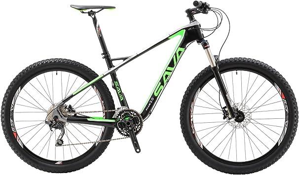 "SAVA 27.5""Bicicleta de Montaña de Fibra de Carbono MTB 30 ..."