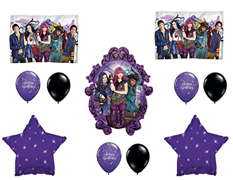 Amazon DESCENDANTS 2 Happy Birthday Party Balloons Decoration Supplies Movie Wicked Everything Else