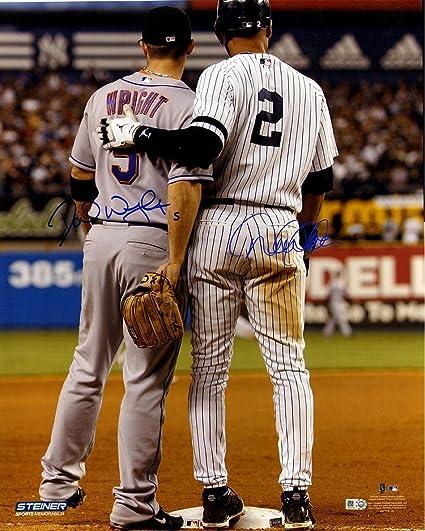 49aae3340 Amazon.com   Steiner Sports MLB New York Yankees David Wright Derek ...