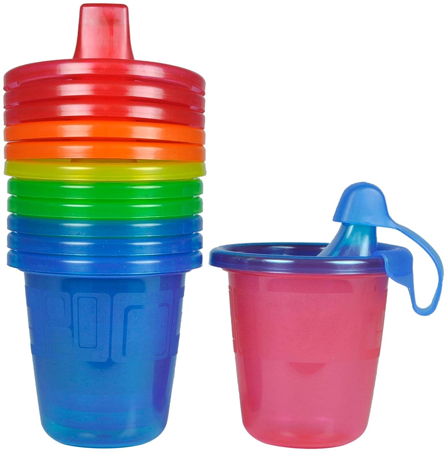 トミカチョウ The First 7 Years Spill-Proof Take & oz Toss Spill-Proof Sippy Cups - Multicolor - 7 oz - 6 ct by The First Years B00LSOWEX8, チネンソン:285f0b08 --- a0267596.xsph.ru