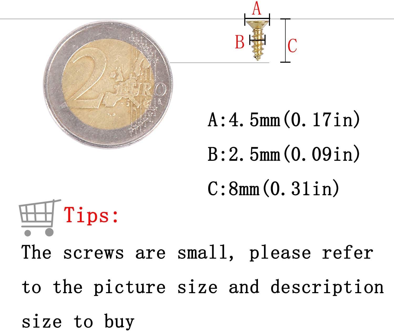 6mm Bronze 500pcs Gro/ßhandel Kleine N/ägel f/ür Erstfalz Multi-Purpose DIY N/ägel DIY dekorative Boxen Zubeh/ör 1