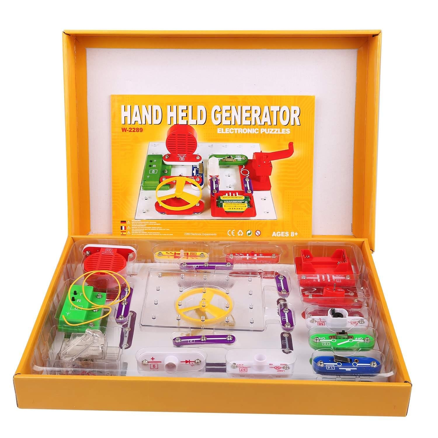 Asatr 2289 Electronics Discovery Kit Educational Amazoncom Snap Circuits Sound Toys Science Toy Diy Clothing