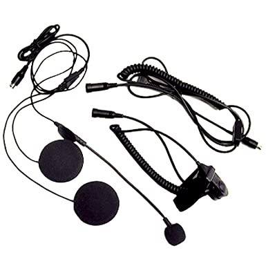 Amazon Com Midland Avph1 Open Face Helmet Headset For Midland Gmrs