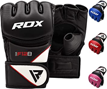 RDX Boxing MMA GLoves Kickboxing Punching Bag Sparring Training Grappling Mitts