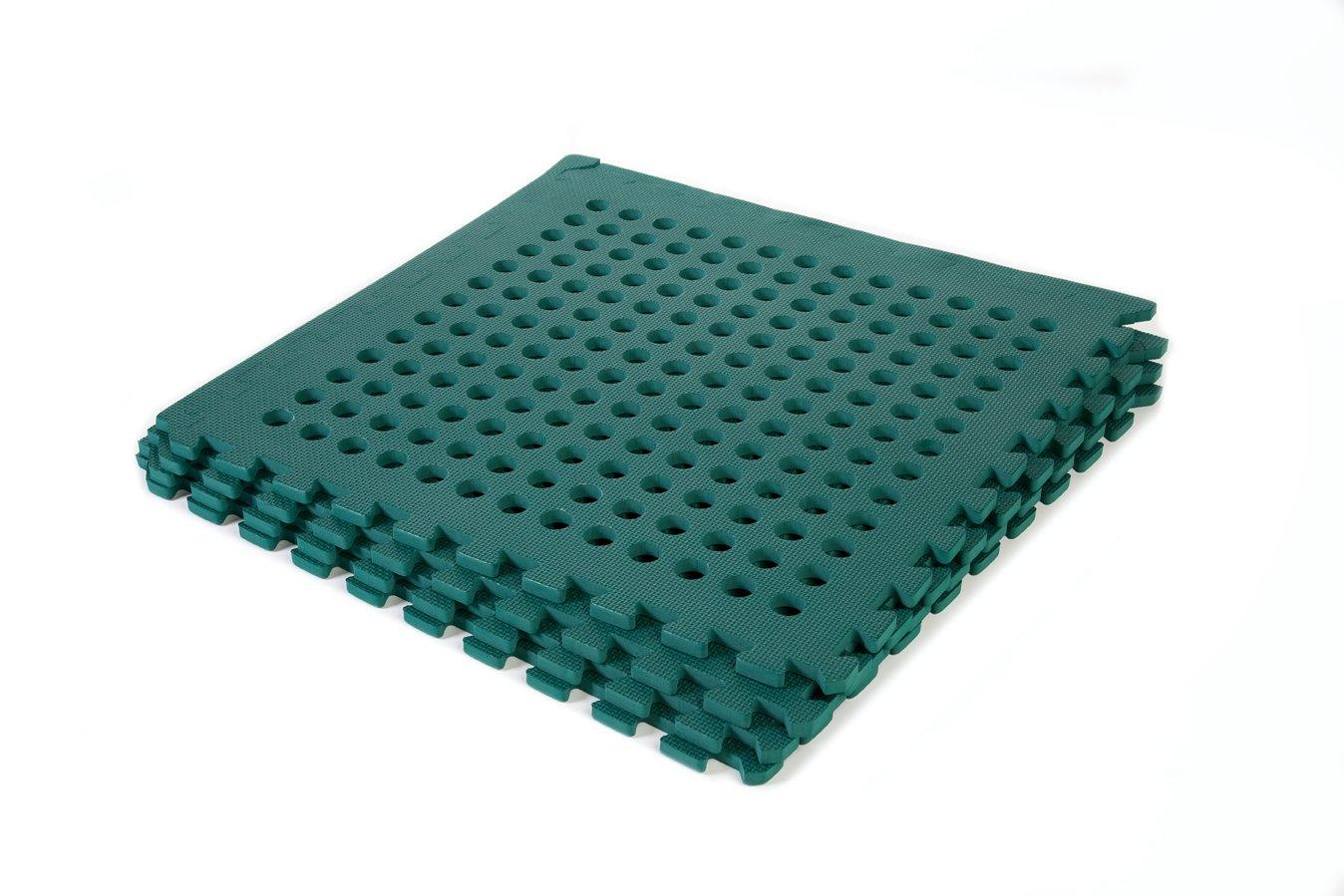 Garden Safety Green Mats 64sq ft Keasimat branded mats Amazonco