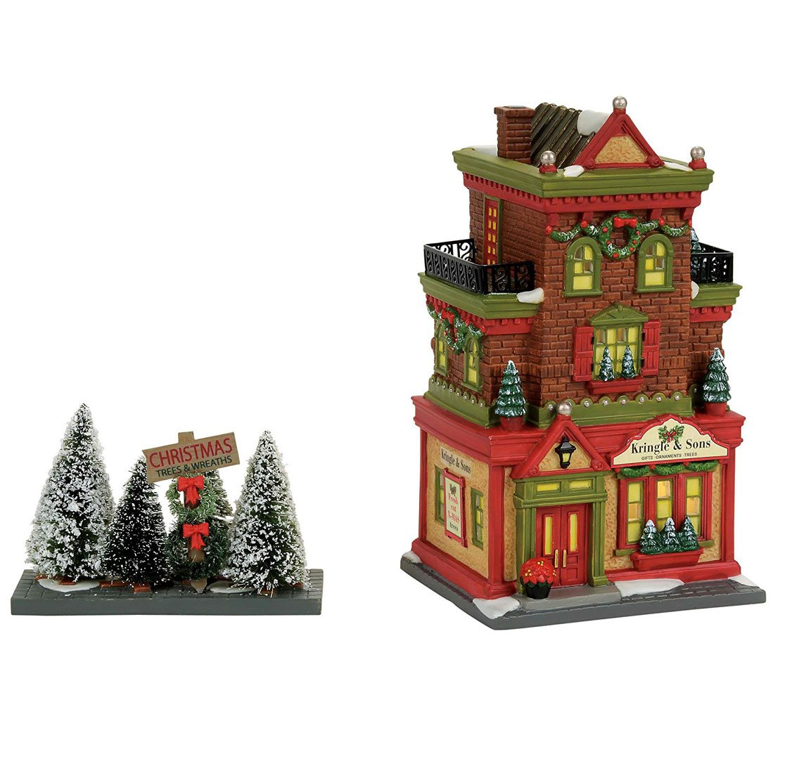 Department 56, Christmas in The City Kringle & Sons Boutique 4056624