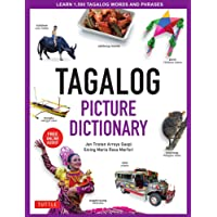 Tagalog Picture Dictionary: Learn 1500 Key Tagalog Words and Phrases [Includes Online Audio]