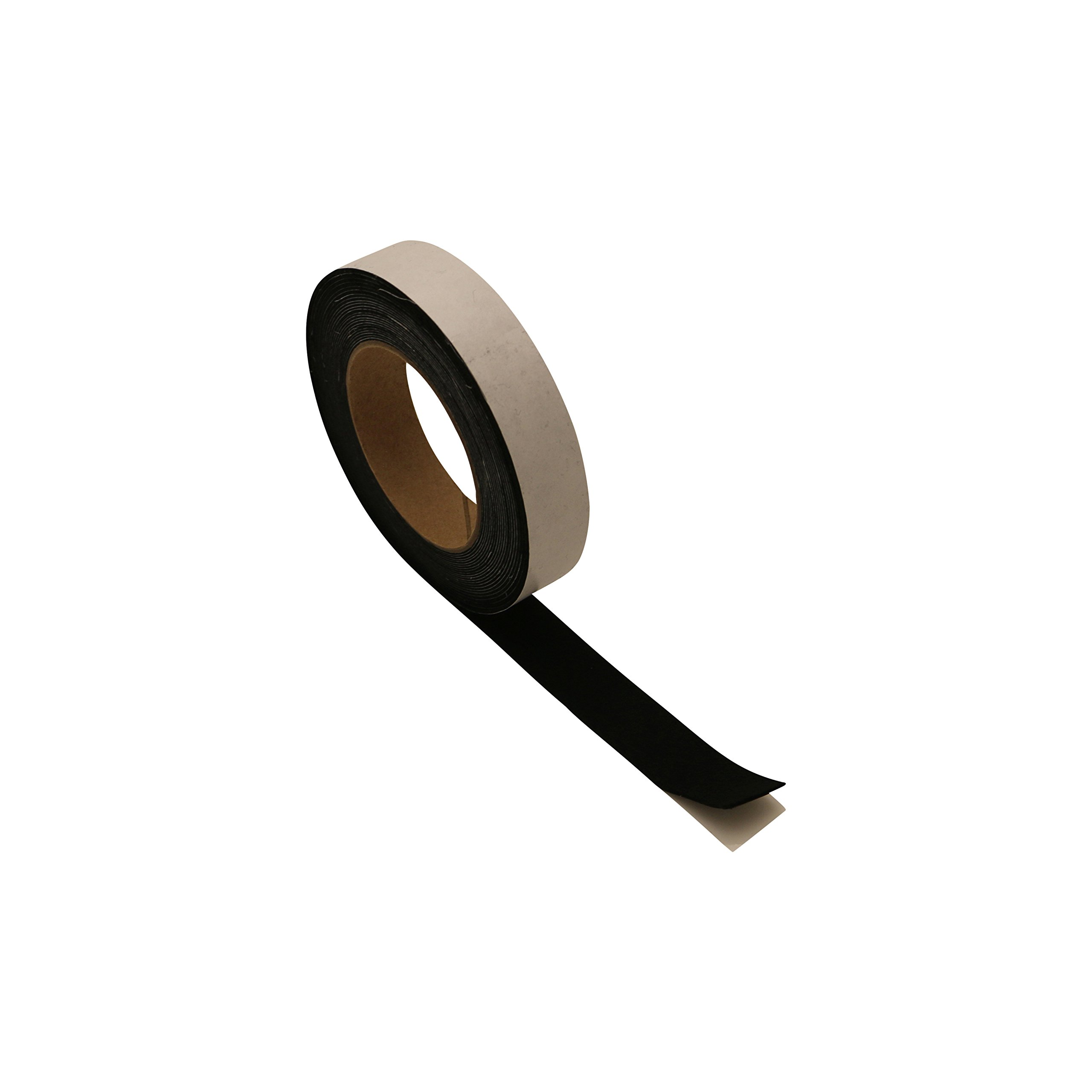 J.V. Converting ACF-06/BLK1833 JVCC ACF-06 Acrylic Craft Felt Tape: 1'' x 25 ft, black