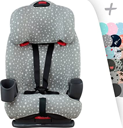 JANABEBE Foam Cover Liner For Graco Nautilus Car Seat Protector Janabeb WHITE STAR