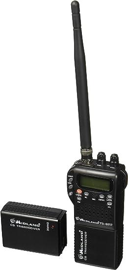 Midland 75-822 Handheld 40-Channel CB Radio Weather//All-Hazard Monitor