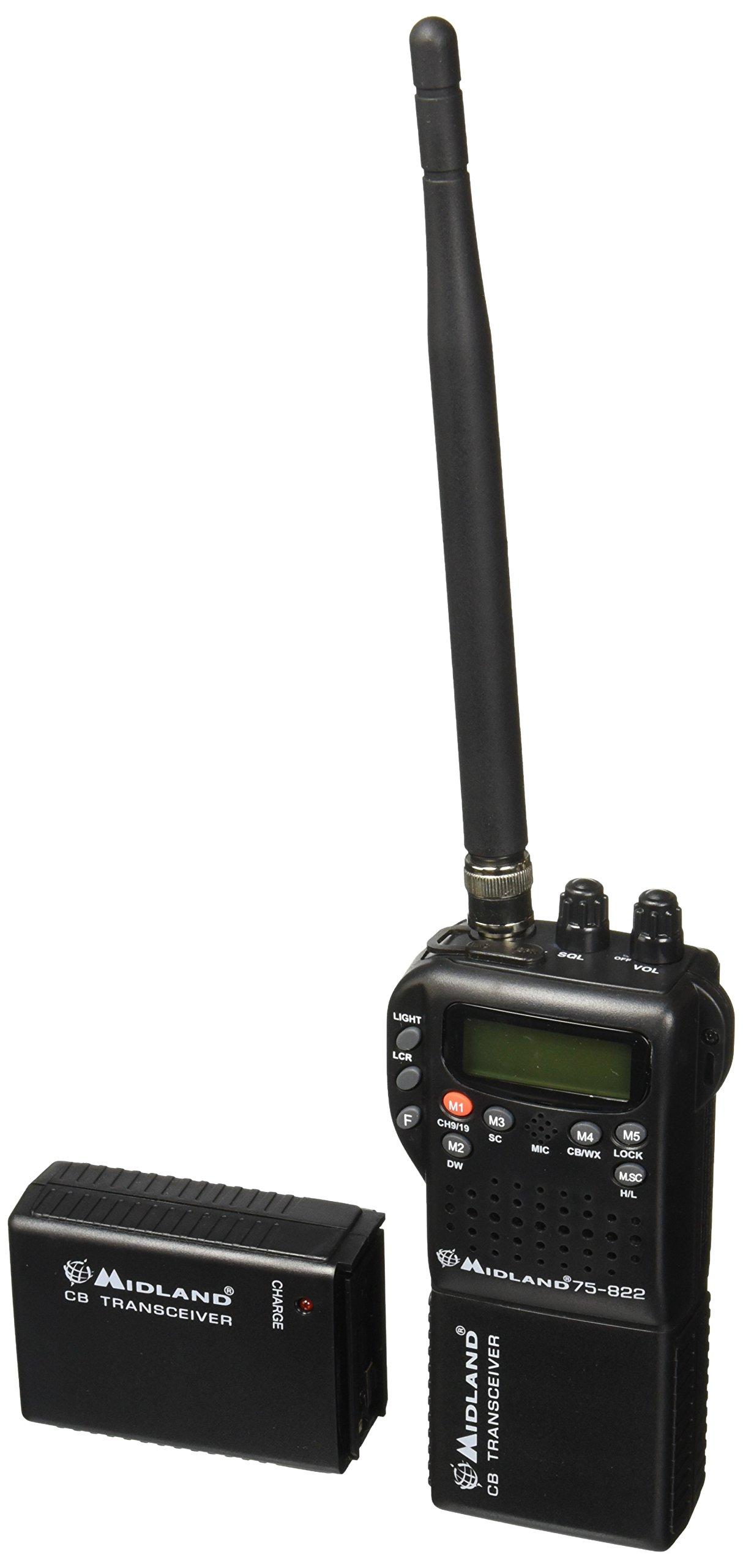 Midland 75-822 40 Channel CB-Way Radio by Midland
