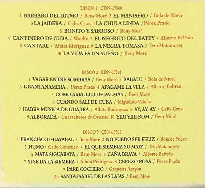 Serie De Oro (Box): Amazon co uk: Music