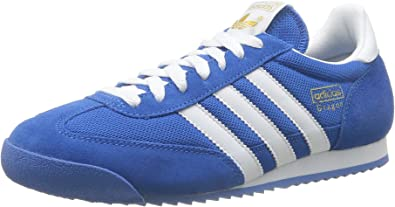 Adidas Dragon - Zapatillas de running para hombre, Azul (Bluebird/White/Metallic Gold), 40 2/3: ADIDAS: Amazon.es: Zapatos y complementos