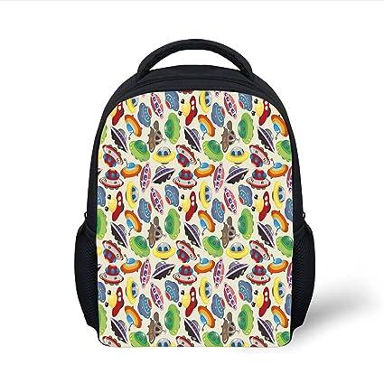 Amazon.com  iPrint Kids School Backpack Space c0aa3d23c3ee8
