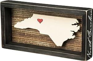 State Box Sign, North Carolina