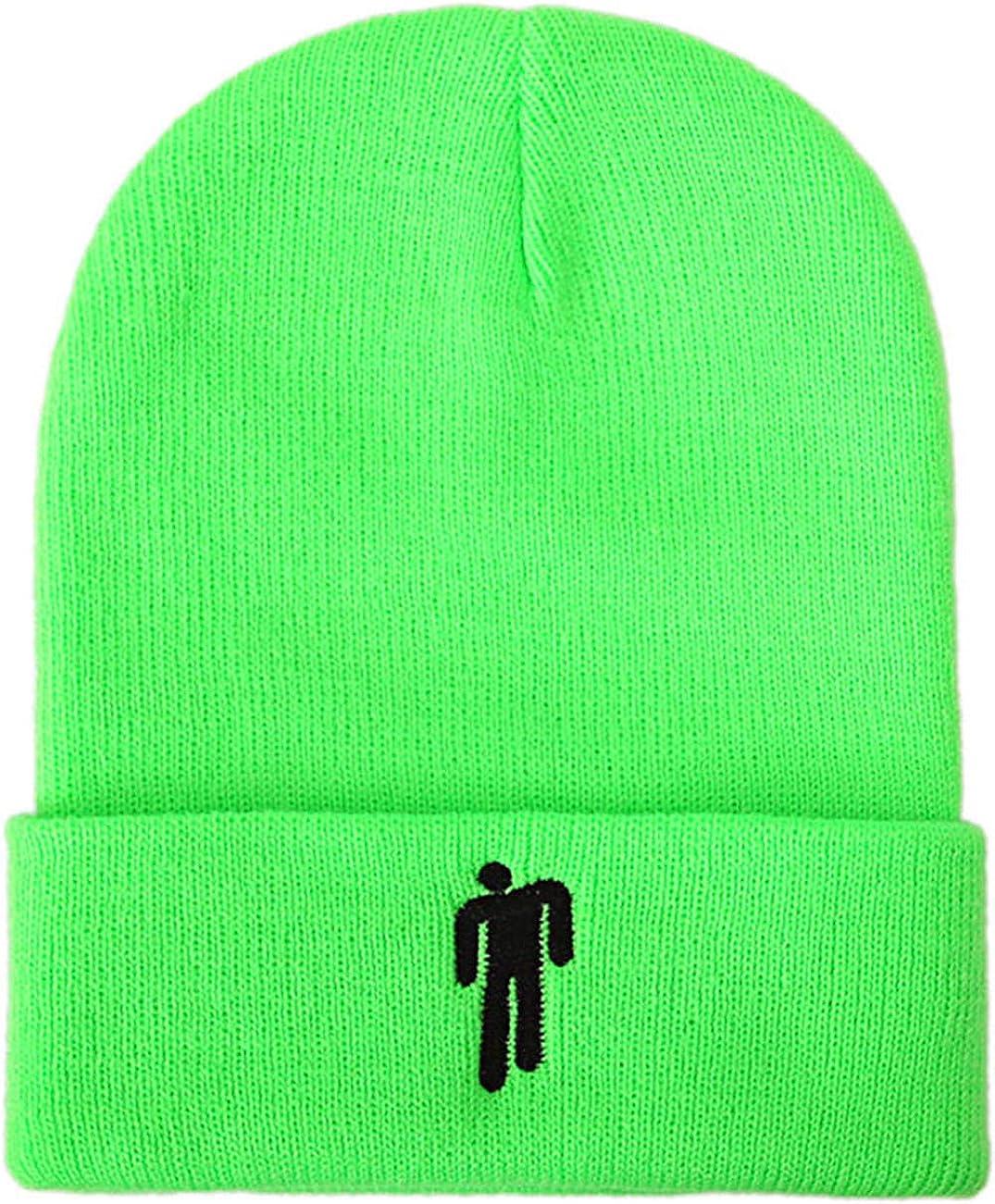 Tinyones Billie Eilish Hat Beanies Knit Hats Unisex Hot Topic Logo Stretchy Cap