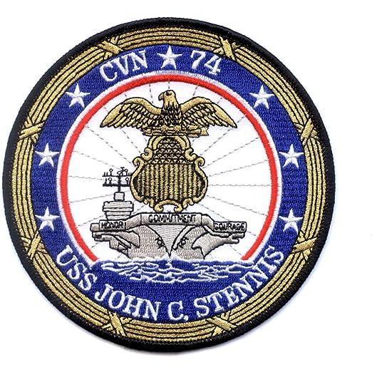 Amazon com: CVN-74 USS John C Stennis Patch: Clothing