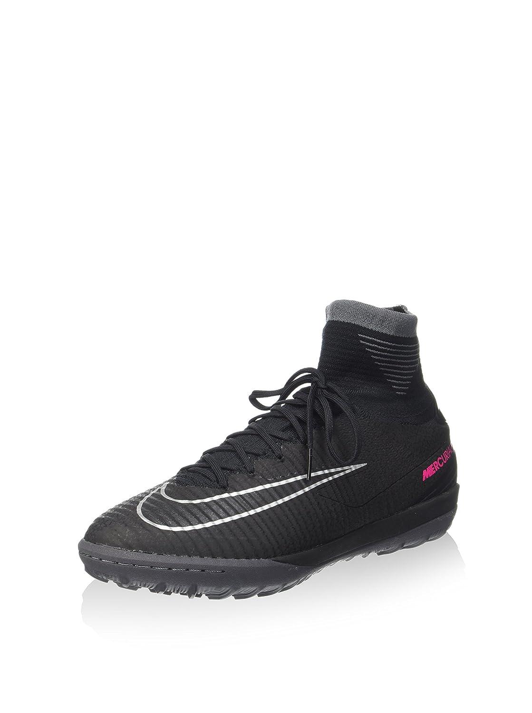 Nike Herren MercurialX Proximo Ii TF Fuszlig;ballschuhe  405 EU|Schwarz (Black/Black-dark Grey)