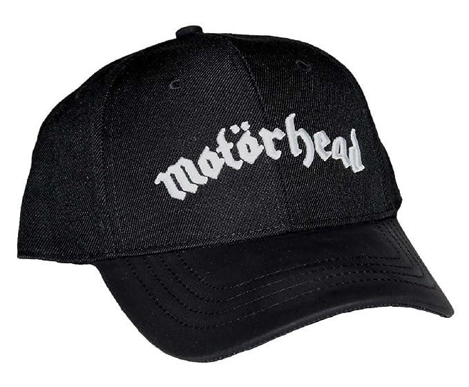 Motorhead Logo Snapback Hat  Amazon.ca  Clothing   Accessories 498413a33ea