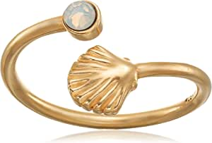 Alex and Ani Shell Wrap Ring, Size 5-7