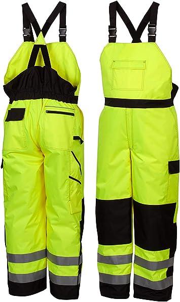 Pyramex Rwb46 Series Hi Vis Pantalones De Trabajo Para Invierno M Verde Home Improvement
