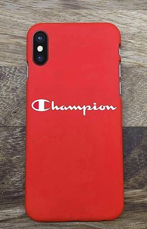 coque iphone xr champion logo