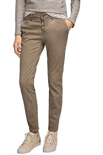 edc by Esprit In Vintage Waschung, Pantalones para Mujer
