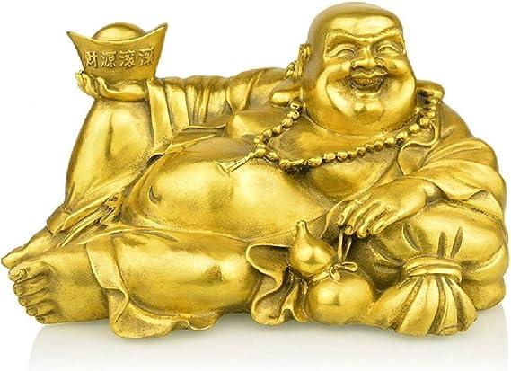 OF Figur Buddha Kopf Gartenfigur f/ür innen und au/ßen geeignet