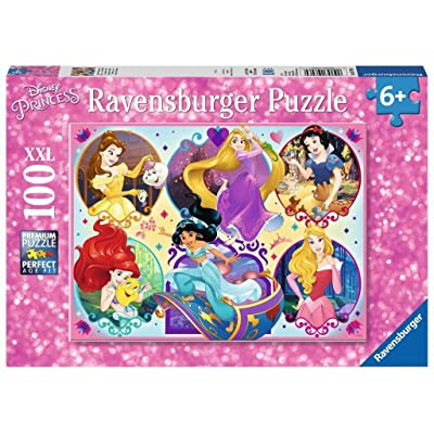 Ravensburger 10796 Disney Princesses - 100 Piece Jigsaw Puzzle for Kids – Every Piece is Unique, Pieces Fit Together Perfectly: Toys & Games
