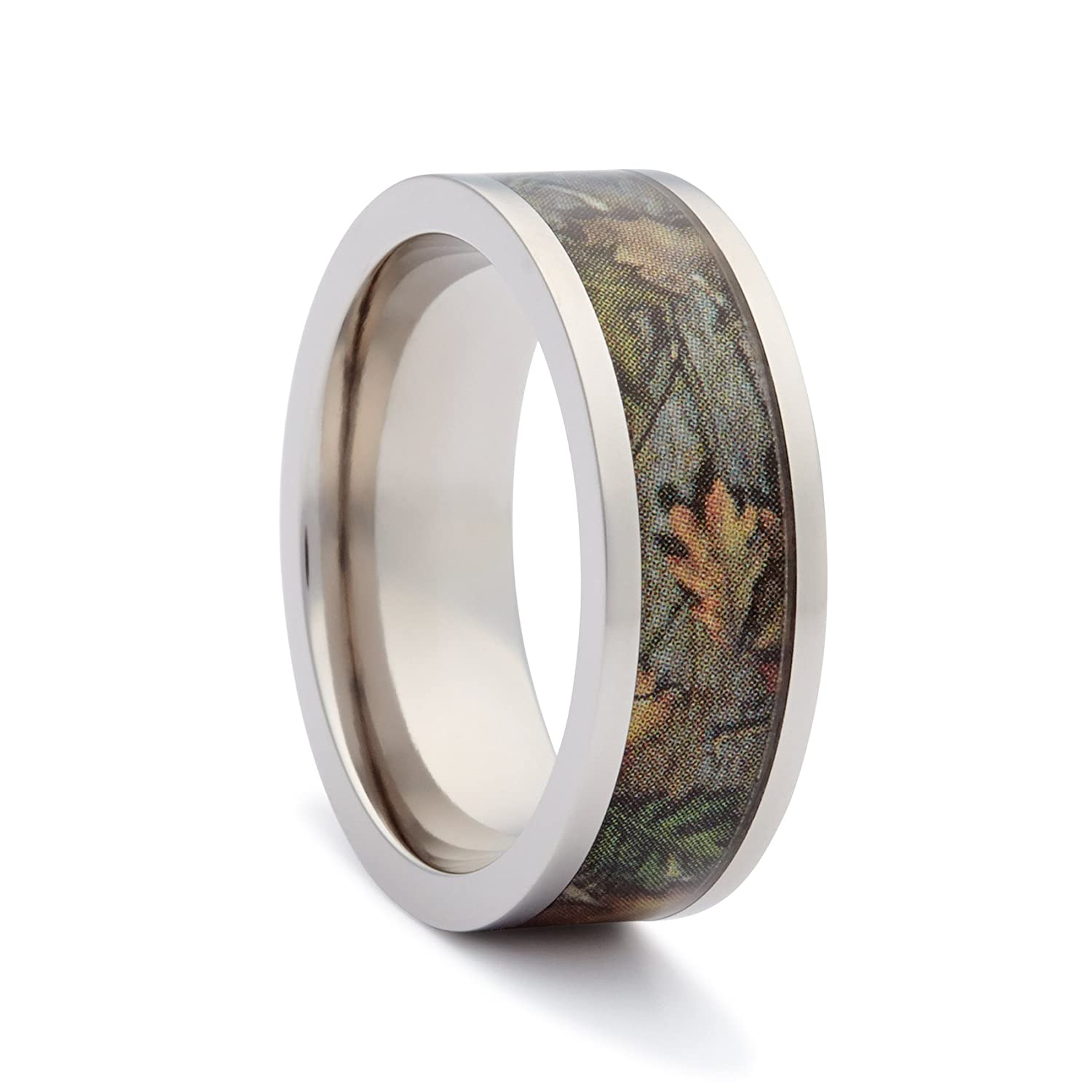 Amazon Camo Wedding Rings By 1 Engagement Flat Titanium Jewelry: Camo Wedding Ring Boy Outfit At Websimilar.org