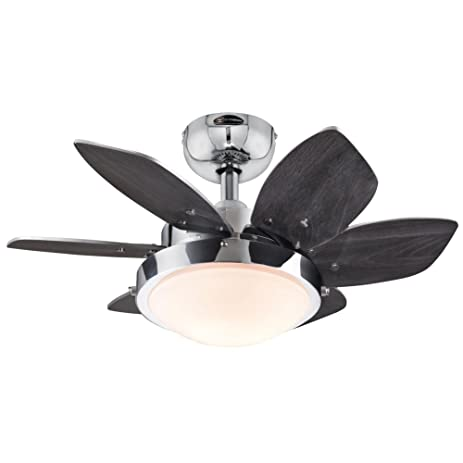 7863100 quince 24 inch chrome indoor ceiling fan light kit with 7863100 quince 24 inch chrome indoor ceiling fan light kit with opal frosted glass mozeypictures Gallery