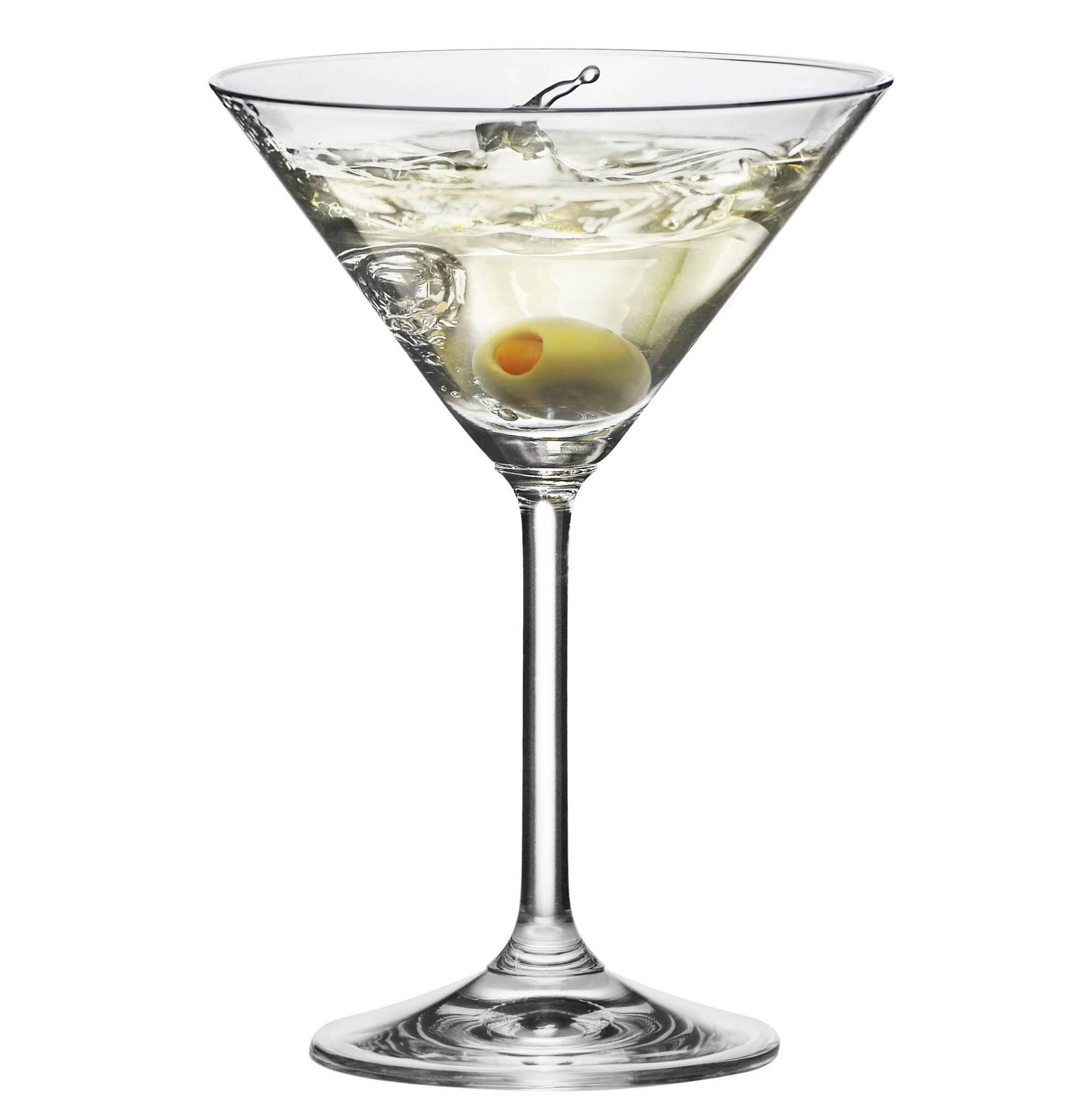 RONA RONA GALA Martini Glass 6 Oz. | Set Of 6 by RONA