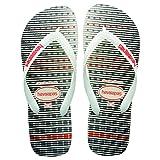 Havaianas Trend Flip Flop Sandal, White/Neon