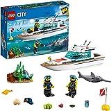 レゴ(LEGO) シティ ダイビングヨット 60221 ブロック おもちゃ ブロック おもちゃ 男の子 車