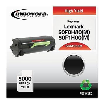 Amazon.com: ms310 m Reman 50 F0HA0 tóner de alto rendimiento ...