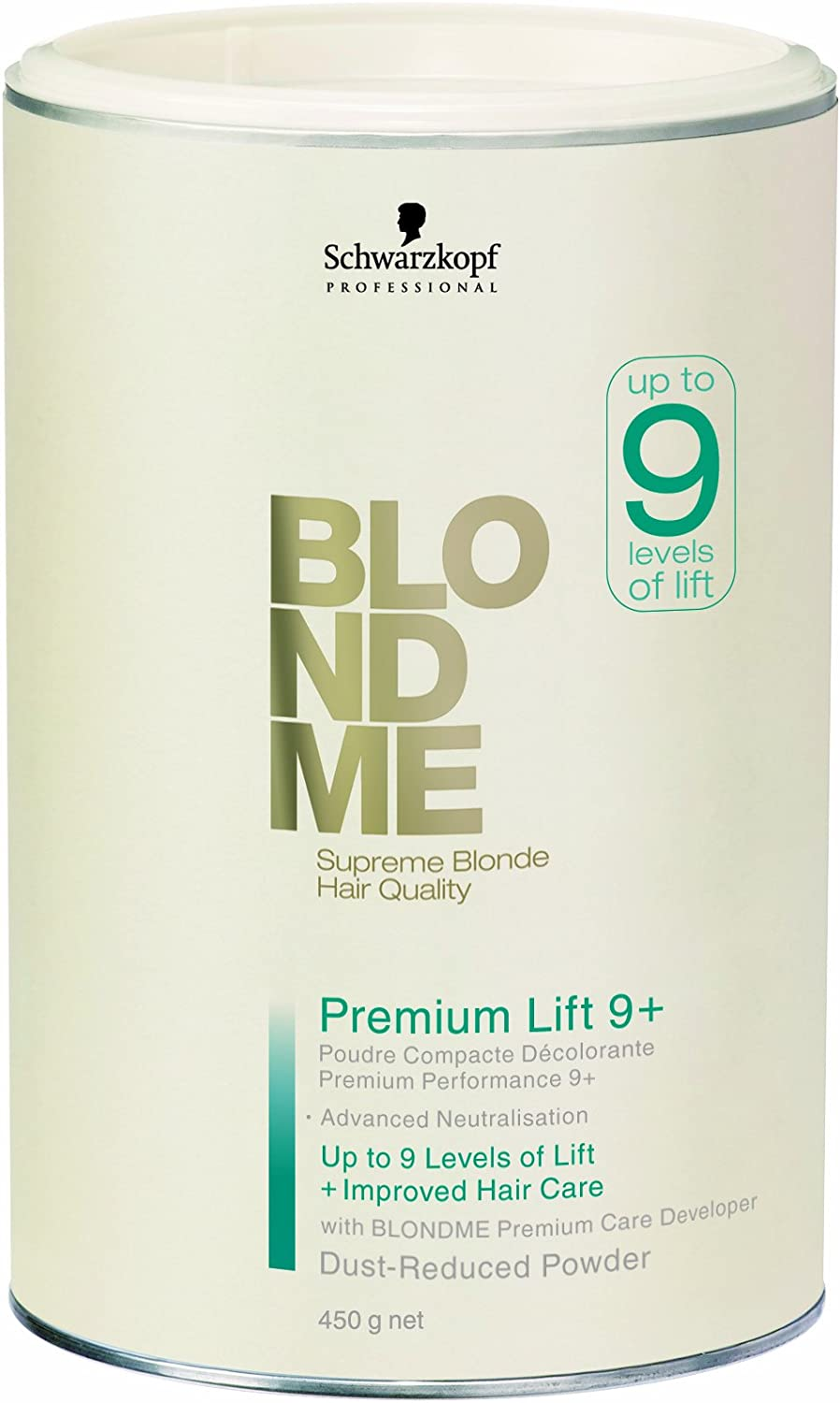 Schwarzkopf BM Premium Lightener Polvos Compactos Decolorantes - 450 ml