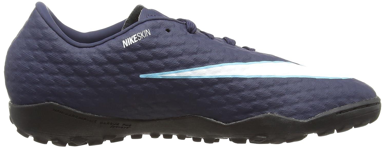 NIKE Unisex-Erwachsene Hypervenom X Phelon Iii Tf 852562 414 Sneaker Mehrfarbig Mehrfarbig Sneaker (Indigo 001) 7771f5
