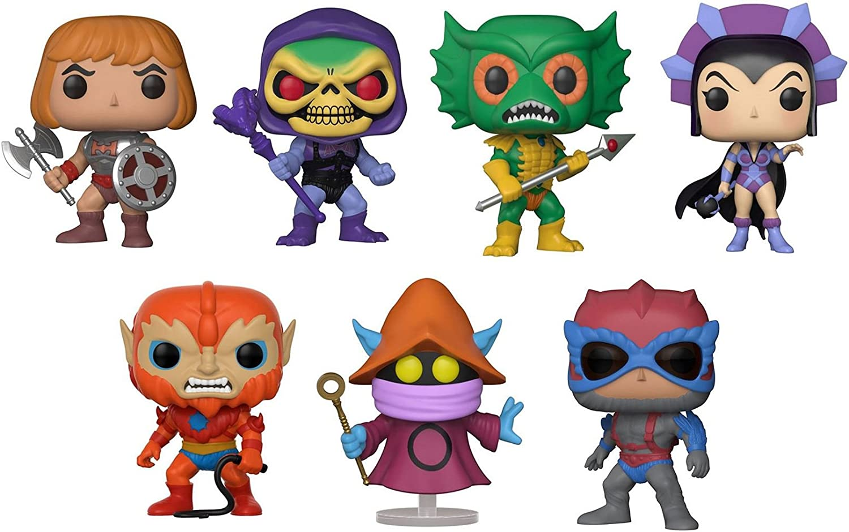 Masters of the Universe Battle Armor He-Man Figura Funko Pop