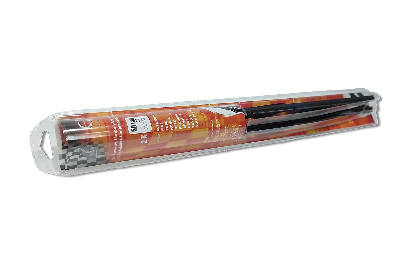 Ropre - Grande Premio - Escobillas Limpiaparabrisas 50 cm - 2 unidades: Amazon.es: Coche y moto