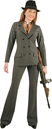 Adult Women/'s Gangster Suit Costume