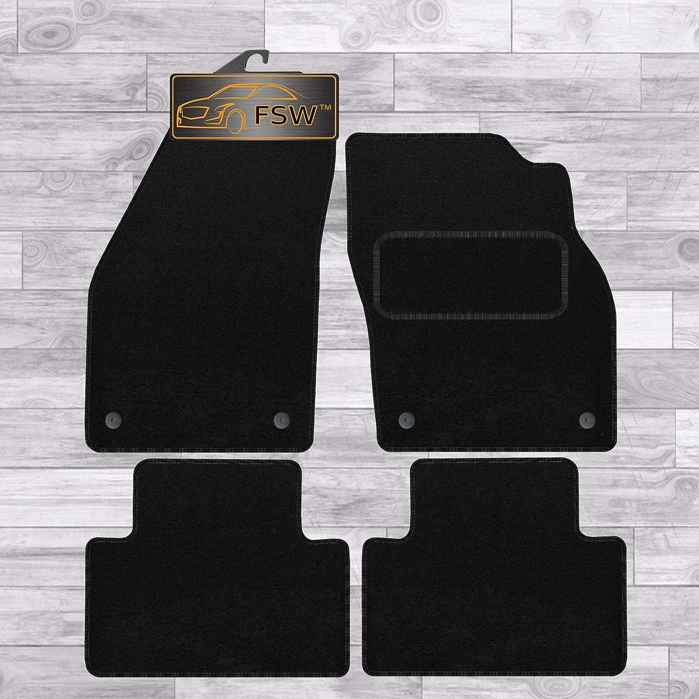 Daf Xf 106 Auto 2014/> Black Tailored Car Mats