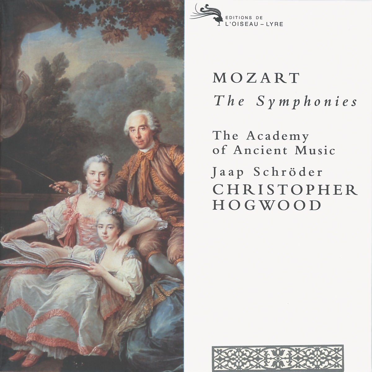 Mozart: The Symphonies (Nos 1-41, plus 27 other symphonic works) /AAM * Schroder * Hogwood by L' Oiseau-Lyre