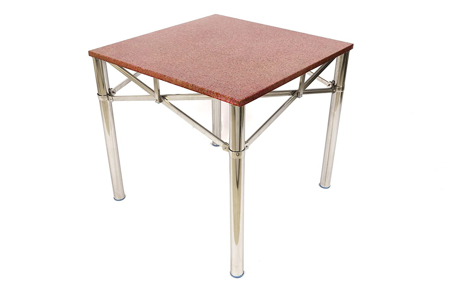 AARA Stainless Steel Folding Multi Purpose Table Can Be Used As