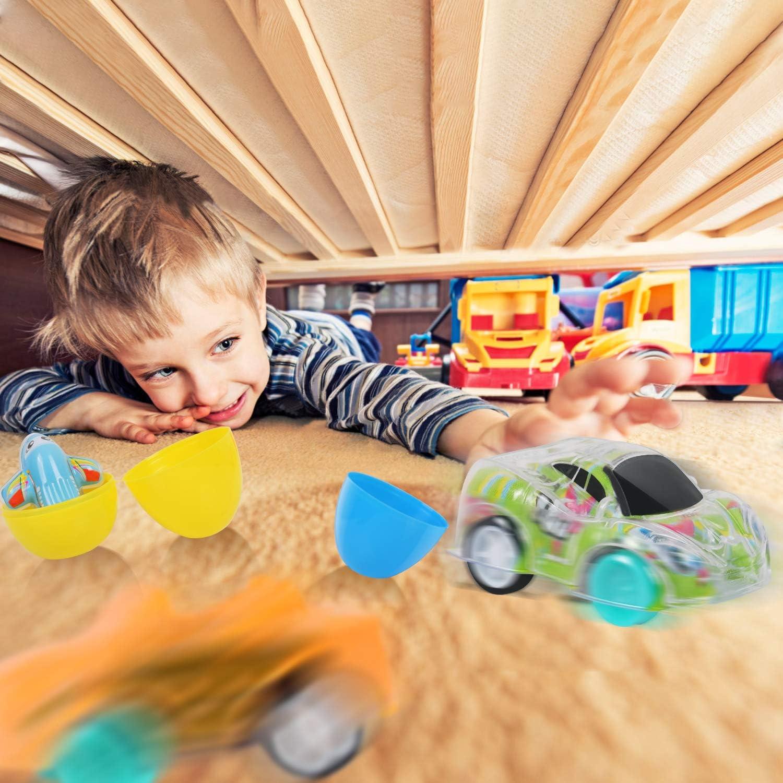 12Pcs VAPCUFF Easter Gifts for Kids Easter Basket Stuffers for Toddlers Easter Basket Stuffers for Kids Easter Gifts for Baby Toddlers Easter Baskets for Kids Age 2-5 Prefilled Easter Eggs
