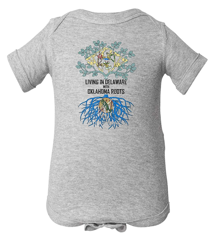 Tenacitee Babys Living in Delaware Oklahoma Roots Shirt
