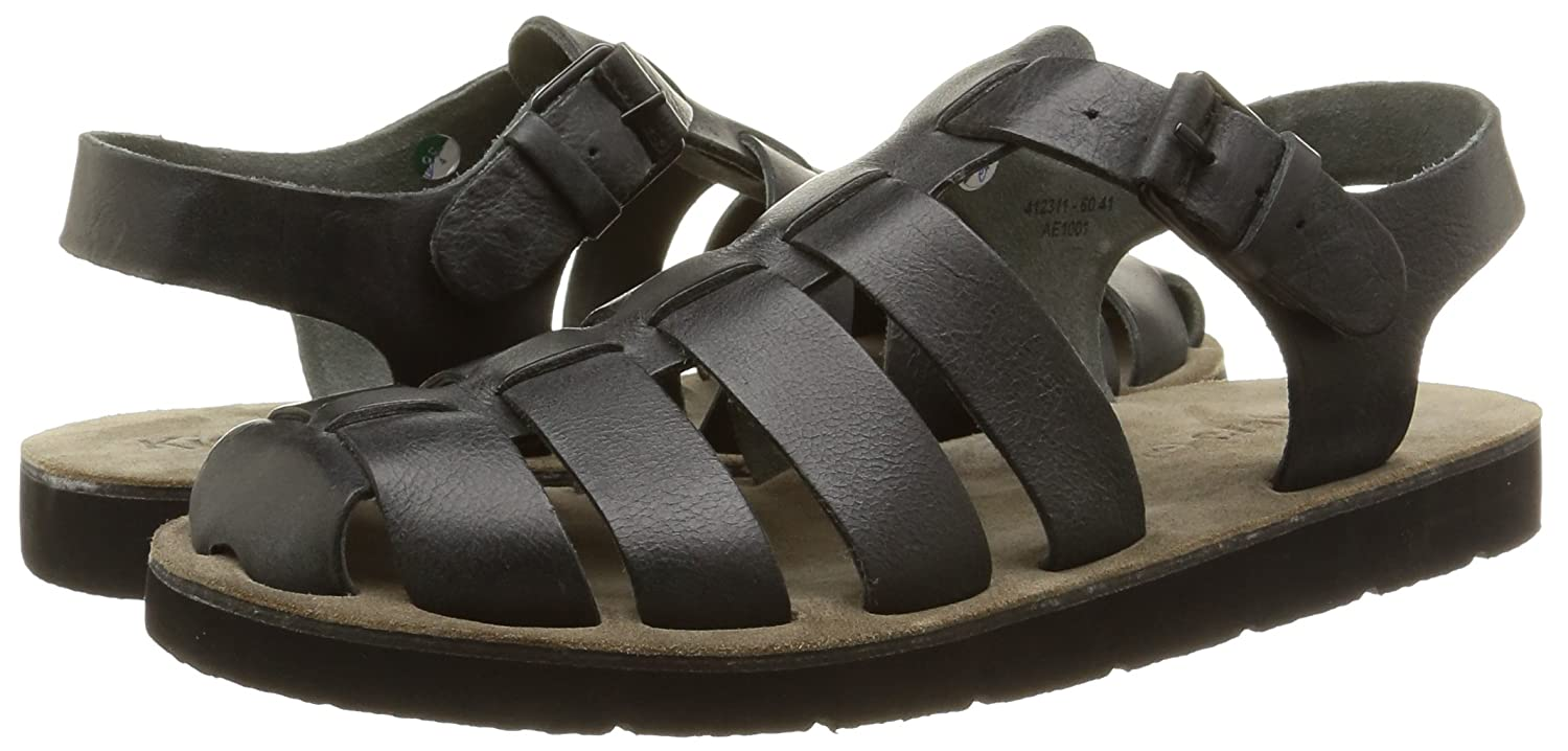 Kickers bresty Sandals Closed Toe Man Black Size: 11 UK