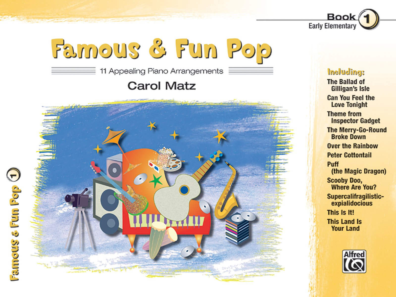 Read Online Famous & Fun Pop, Bk 1: 11 Appealing Piano Arrangements pdf epub