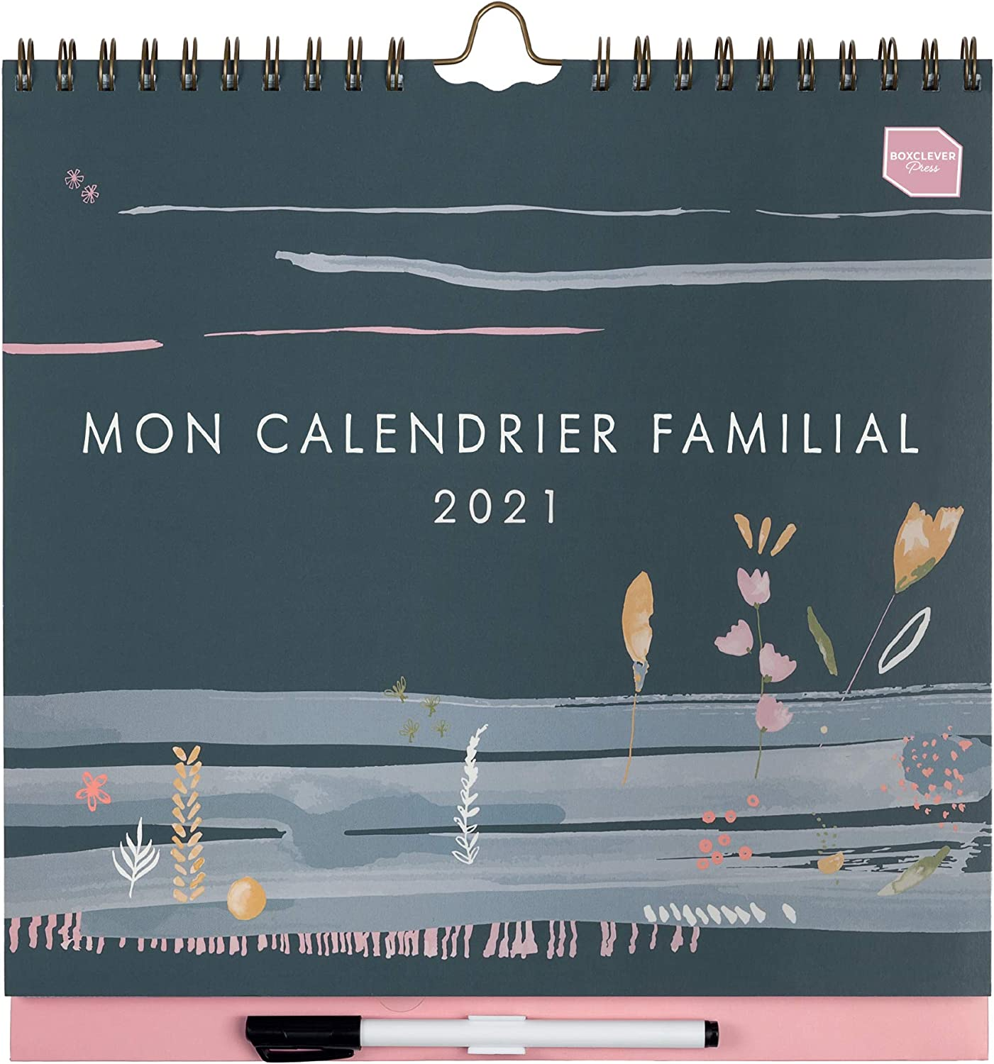 Calendrier Familial 2021 in French) Boxclever Press 'Mon Calendrier Familial' 2021. Family