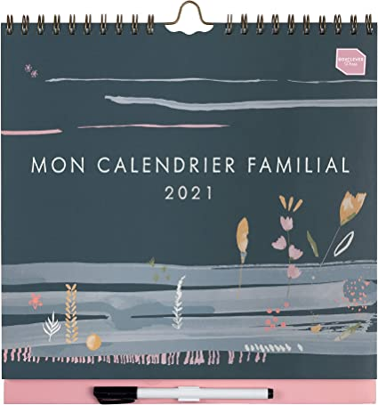 Calendrier 2021 Open Office in French) Boxclever Press 'Mon Calendrier Familial' 2021. Family
