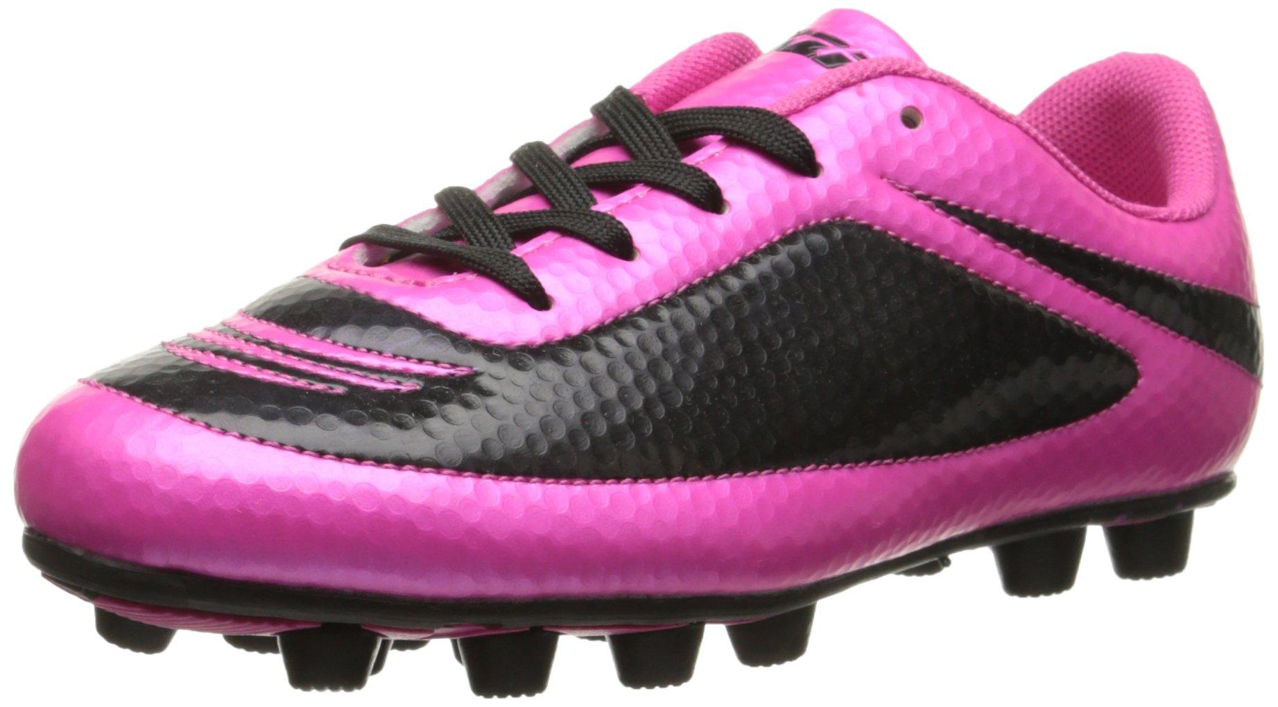 Vizari Infinity FG Soccer Cleat, Pink/Black, 13 M US Little Kid